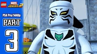 LEGO Marvel Super Heroes 2 Walkthrough PART 3 (PS4 Pro) No Commentary @ 1440p HD ✔