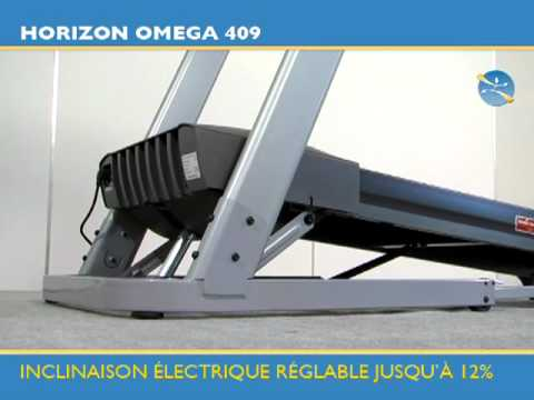Tapis De Course Horizon Omega 409 Tool Fitness Youtube