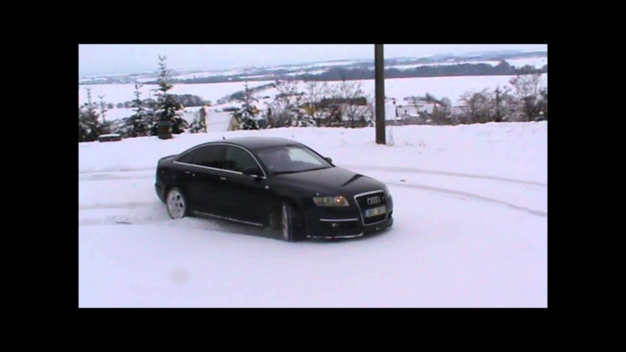 Audi A6 3 0 Tdi Quattro Snow Youtube