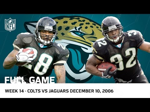 Fred Taylor and Maurice Jones-Drew Run Rampant Colts vs. Jaguars (Week 14, 2006 Full Game) | NFL