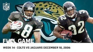 Fred Taylor and Maurice Jones-Drew Run Rampant Colts vs. Jaguars (Week 14, 2006) | NFL Full Game