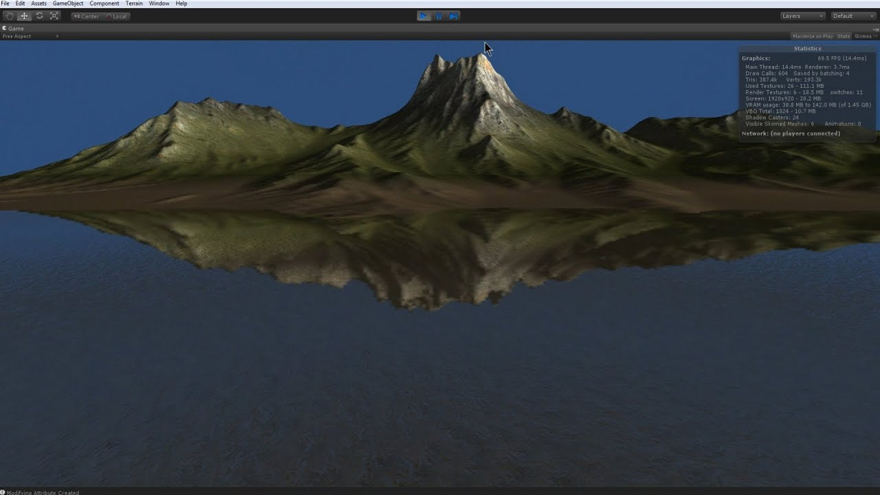 Unity3D Island terrain - Tiled Worldmachine heightmaps