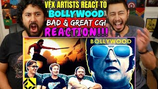 VFX Artists React To BOLLYWOOD Bad & Great CGI - REACTION!!!