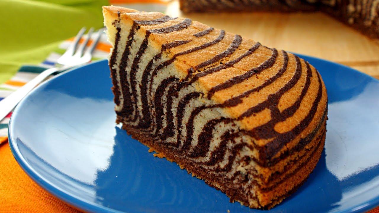 Ciasto Zebra Smaczne Przepisy Tv Youtube