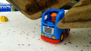 Building Toys with a 20 Ton Excavator
