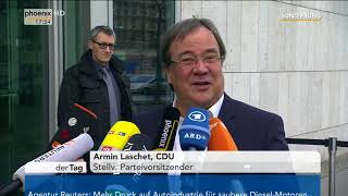 Statements von Armin Laschet und  Peter Ramsauer zu den Sondierungsgesprächen am 10.01.18