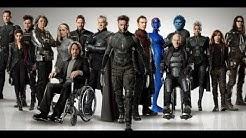 All the mutants in the X MEN movies