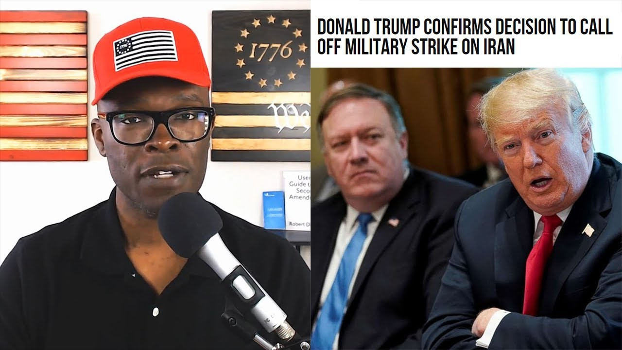 Anthony Brian Logan - Trump Calls Off IRAN STRIKE in The Zero Hour!