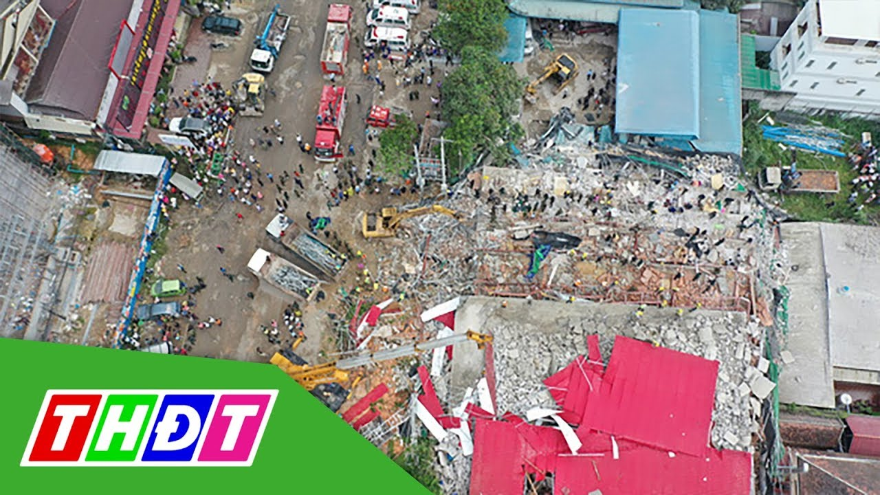 Campuchia: Sập nhà cao tầng, 18 người thiệt mạng | THDT