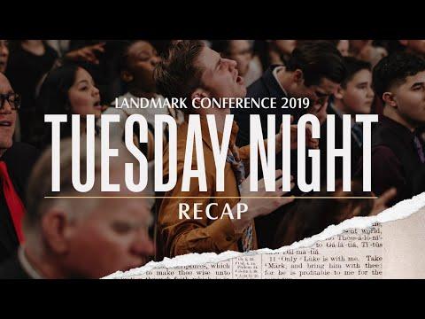 Landmark Conference 2019 - Tuesday Night Recap