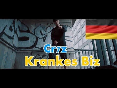 GERMAN REACTS TO: Cr7z - Krankes Biz