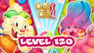 Candy Crush Jelly Saga Level 120 - Jelly Queen