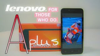 Lenovo A plus   дешево и сердито. Lenovo a plus a1010a20 Обзор, отзывы