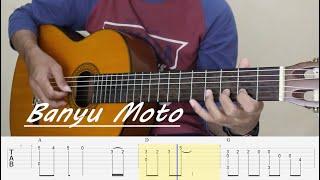 BANYU MOTO - Fingerstyle Guitar Tutorial TAB