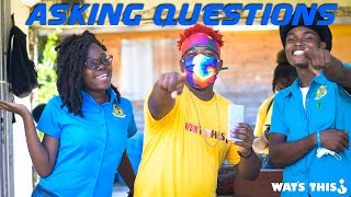 Watsthis Asking Dominica's State College Students Questions