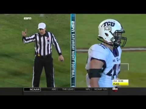 Baker Mayfield(Oklahoma QB) vs TCU 2015