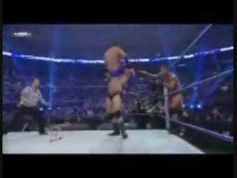 Survivor Series 2008 Randy Orton RKO