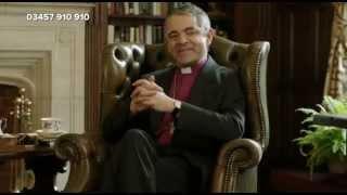 Rowan Atkinson - The Archbishop of Canterbury - Comic Relief 2013