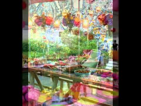 Diy backyard party decorating ideas youtube for Backyard party decoration
