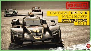 NEW GRID 2019 GAME - MULTIPLAYER! / Silverstone / Rain / Cadillac DPi-V.R New footage