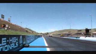 All Ford Day 2011 Bandimere Speedway 1964 AFX Comet,Falcon.wmv