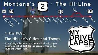 Cut Bank, Shelby, Havre, Malta: Cities on The Hi-Line, Montana