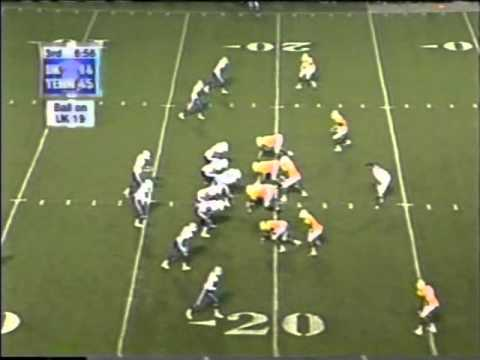 Tim Couch vs  Tennessee 1998