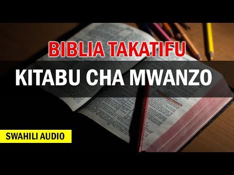Download BIBLIA TAKATIFU KITABU CHA MWANZO (SWAHILI AUDIO)