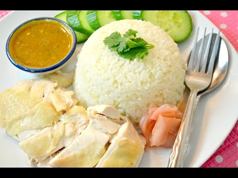 "Thai Style ""Hainanese Chicken Rice"" (Khao Man Gai ..."
