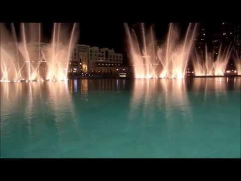Dancing fountain at Burj Khalifa, Dubai (I will always love you)