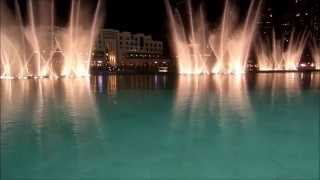 I will always love you - Dancing fountain symphony at Burj Khalifa (Dubai)
