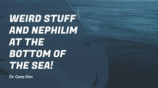 WEIRD STUFF and Nephilim at the BOTTOM of the Sea!...