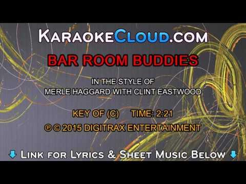 Merle Haggard - Bar Room Buddies (Backing Track)