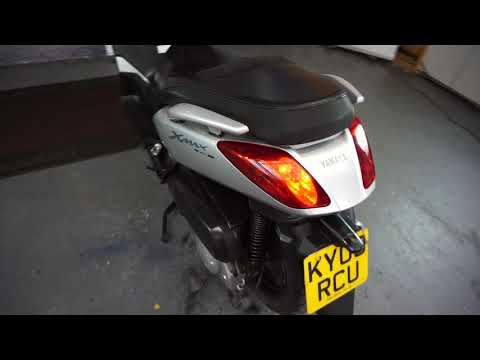MOTORBIKES 4 ALL REVIEW YAMAHA xmax 250 silver 2009 FOR SALE £1790