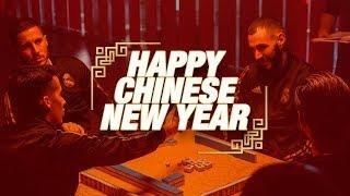 Benzema, Hazard, Lucas V & Nacho play Mahjong! | Happy Chinese New Year!