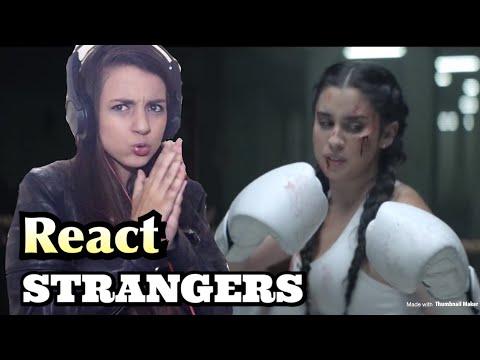 REACT STRANGERS  - LAUREN JAUREGUI E HALSEY