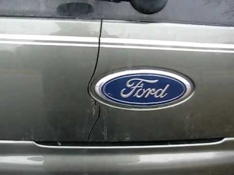 2002 Ford Explorer Rear Panel Crack Youtube