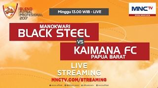 Black Steel VS Kaimana FC (FT : 14-2) - Blend Futsal Profesional 2017