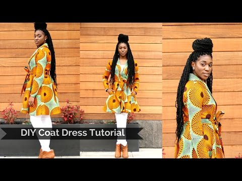DIY Coat Dress Tutorial Part 1