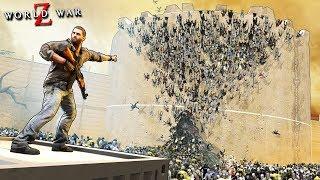 ЗОМБИ ПРОРВАЛИ ДАМБУ СТЕНА СЕЙЧАС РАЗРУШИТСЯ 4 ЧЕЛОВЕКА ПРОТИВ ОГРОМНОЙ АРМИИ ЗОМБИ В WORLD WAR Z