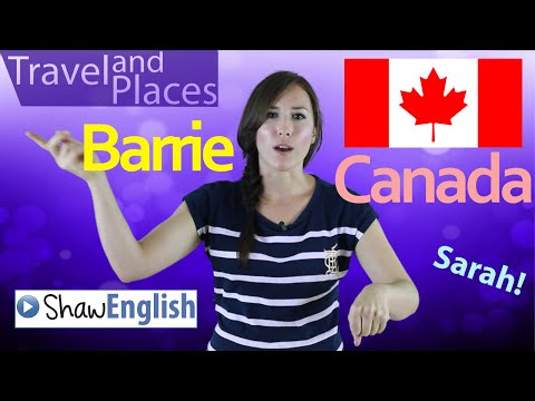 Travel and Places: Barrie