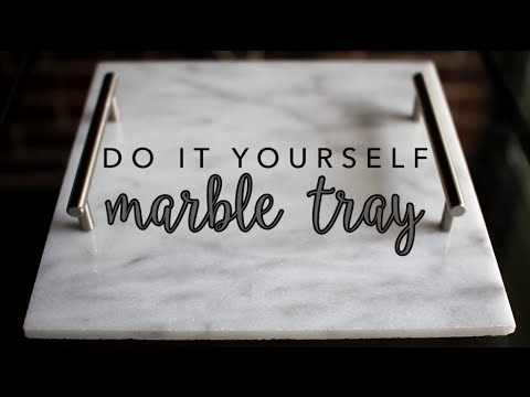 DIY Marble Tray   How to Make