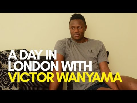 EXCLUSIVE: A Day in London with Victor Wanyama | Capital Sport