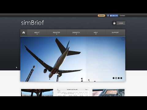 Flight Planning with SimBrief
