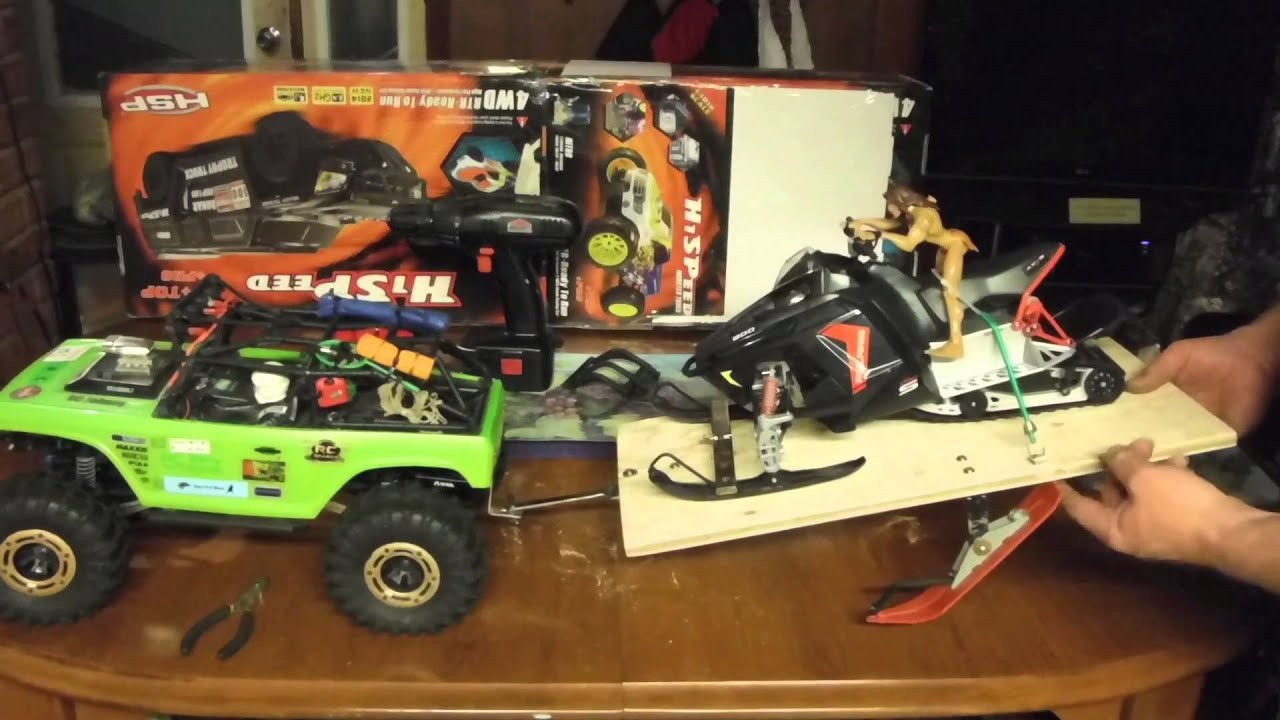 Rc Skidoo trailer build complete and ready to take on the ...