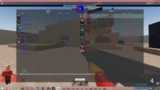 Playing team fortress 2 in roblox