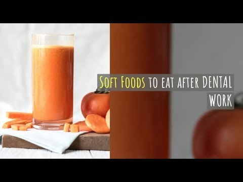 Soft Food For After Dental Work