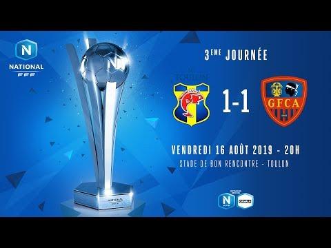 J3 : SC TOULON - GFC AJACCIO (1-1), le résumé I National FFF 2019-2020