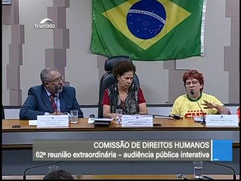 Serviços públicos - TV Senado ao vivo - CDH - 20/06/2018