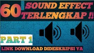 Sound Effect Terlengkap dipakai para Youtuber